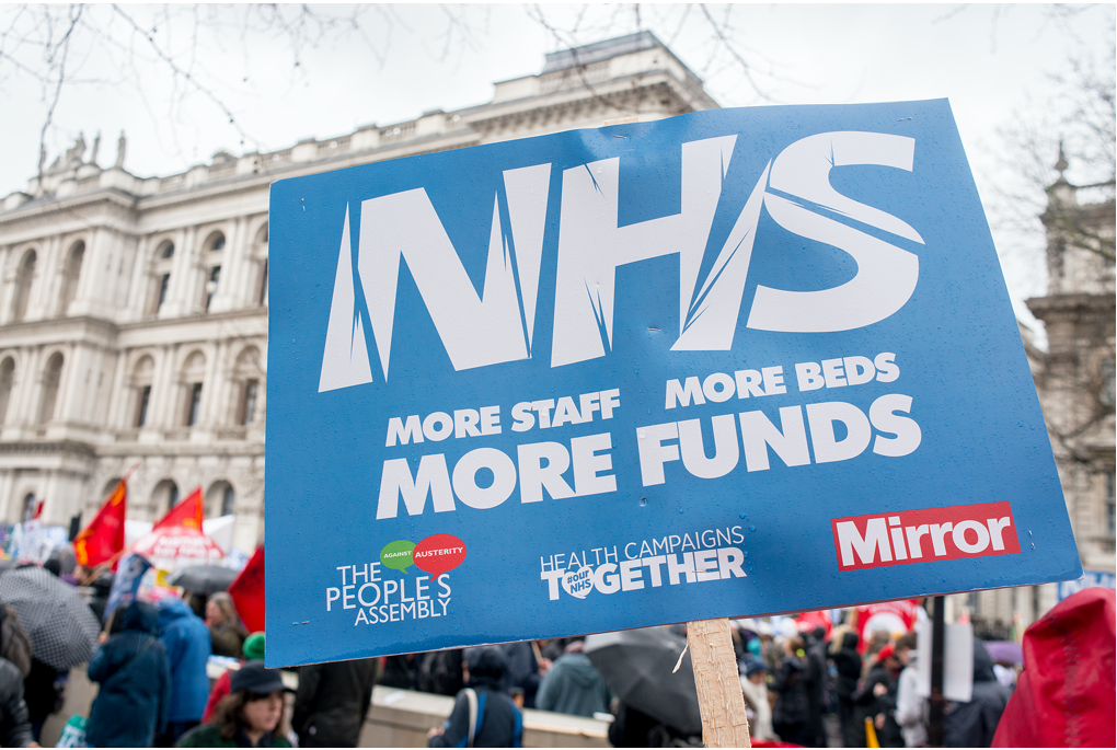 NHS More funds banner