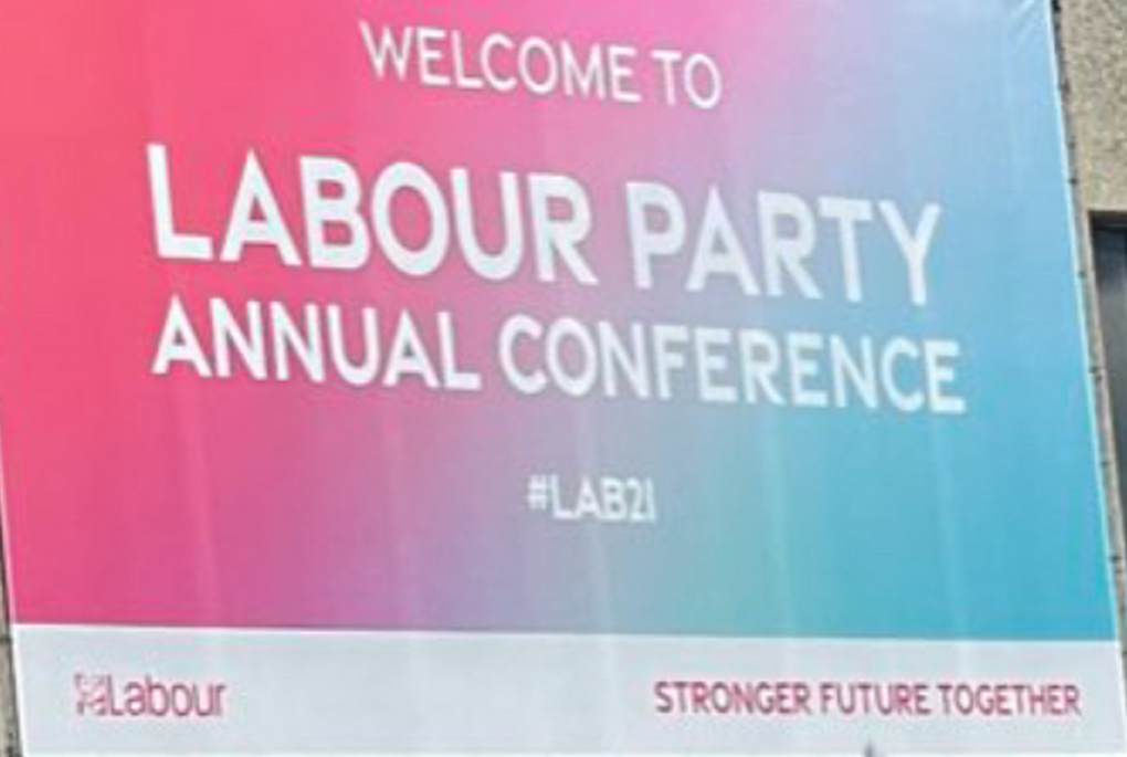 Welcome to Labour Party Annual Conference